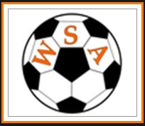 soccer ball with WSA on it